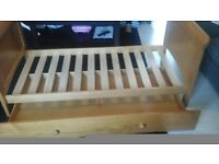 Babies r us toddler bed with storage drawer underneath ( need gone )