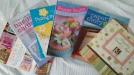 Craft books x 6 - Make Handmade cards and other paper craft ideas