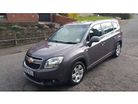 CHEVROLET ORLANDO 7 SEATER READY FOR TAXI/UBER, TAX AND MOT UNTIL OCTOBER 2017