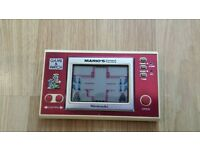 Vintage, Retro, Collectible Nintendo GAME & WATCH MARIO'S Cement Factory 1983