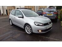 2010 1.6 s tdi 3 door golf, full service hist from agnews, 1 owner
