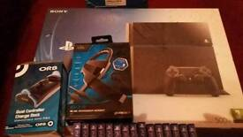 Ps4 console with extras see description