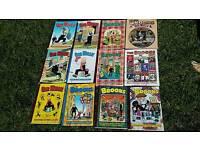12 Classic comic book annuals