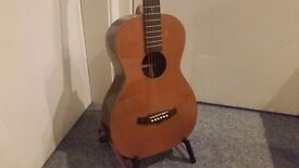 TANGLEWOOD TWJP S JAVA PARLOUR ACOUSTIC GUITAR - Collection Only.