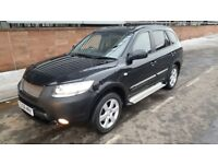 Automatic 4x4 2008 Hyandai Santa FE CDX +CRTD A 7 Seater 11 Month MOT Leather Seats Good Condition.