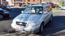 Hi Spec People Carrier. 58,000 miles..DVD player. Electric seats. Full leather interior.