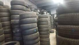part worn and new tyres from £15