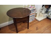 Vintage Retro Sewing Box Knitting Box Side Table Bedside Table