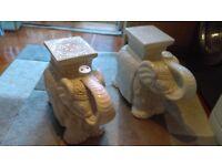 Elephants ceramic