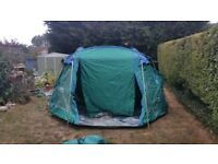 Large family tent