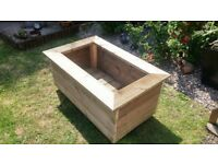 Patio Planter Box.