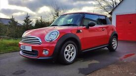 2012/61 MINI One 3 Door With Only 15,000 Miles