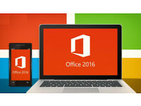 MICROSOFT OFFICE PRO SUITE for PC (2016)