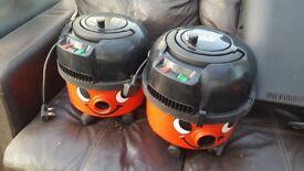Henry Hetty Harry hoovet vacuum cleaners