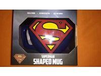 Superman Shaped Mug