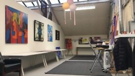 Open Studio Space 450 sq ft for Shared Use in W3