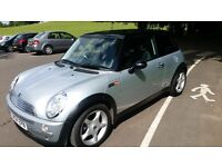 Mini cooper 2004 silver loads of extras