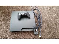 Ps3 120gb and controller