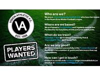Vision Athletic - cross-community football club looking for new players!