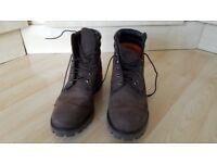 Brand new Timberland Dark Brown size 10 boots 95 pounds only