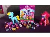 My Little Pony bundle- 22 figurines and book