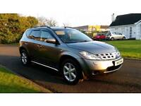 Part ex / swap - Nissan Murano 4x4 Auto - only 78k miles - FINANCE AVAILABLE