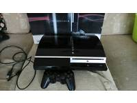 Ps3 working games console and 10 games
