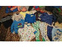 Large bundle of boy clothes 2-4 years mothercare primark