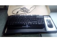 Devastator 3 gaming keyboard and mouse combo with back lighting and mouse pad