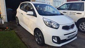 REDUCED ~ Kia Picanto White Ecodynamics ~ 3dr Petrol Hatchback 1.25 ~ Kia Warranty
