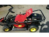 Go cart mower