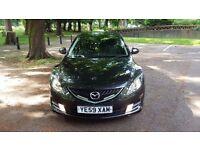 2009 Mazda 6 2.2D TS2 Black Low Mileage