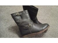 Belstaff Brown Leather Boots (Size 6)