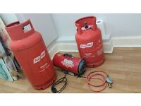 Clarke little devil + 2 full gas cylinders