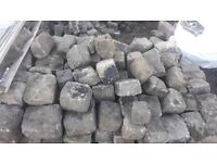 Granite Setts available £100 in tonne bags, contact Vincent on 07484857835