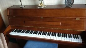 Young Chang Piano S108 Walnut and piano stool - reduced from £600 to £500