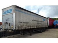 2 EUROLINER SCHMITS/CURTAINSIDERS/SCS24L 2002 IN YEAR