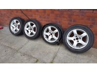 ALLOY WHEELS FOR SALE £60