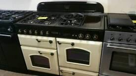 Rangemaster 110cm dual fuel range cooker