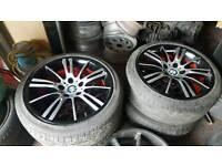 "Original BMW 18"" custom sprayed alloys, more in stock, refurbishment available"