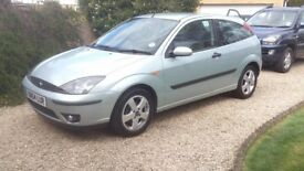 Great Condition Low Mileage Ford Focus 1.8i Edge 2005