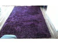 Large plum rug