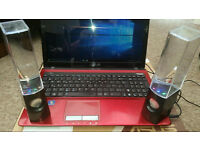 Asus K53E Red with Windows 10 Pro 4GB Ram, 400GB HDD Office 2013 (fully Activated)
