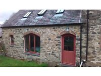 Two storey open plan flat 3 miles Newport pembs, on farm