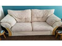 Three piece sofa