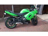 kawasaki motor bike