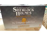 DVD Sherlock Holmes box collection not played Jeremy Brett the best Holmes
