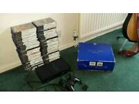 Playstation 2 with 60 games