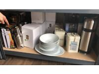 Assorted Kitchen Crockery