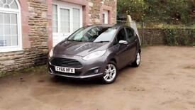 Ford Fiesta Zetec 1.2 petrol ⛽️ low mileage ( 6000 mils ) * immaculate condition inside & out